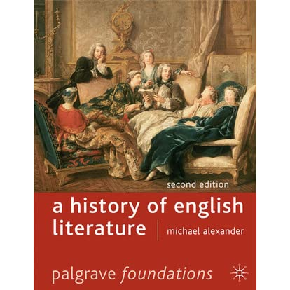 history of english literature pdf