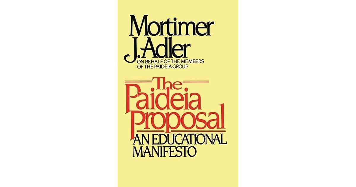 schooling is not education mortimer j adler essay