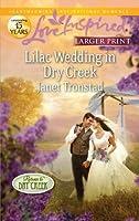 Lilac Wedding in Dry Creek