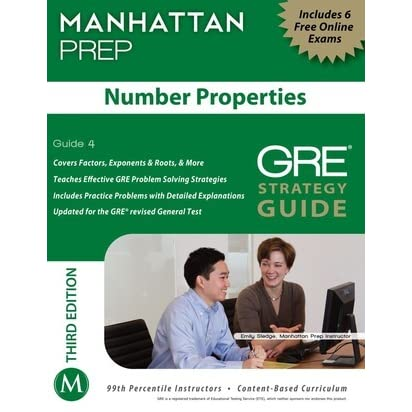 GRE Strategy Guide: Number Properties by Manhattan Prep