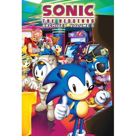 Sonic The Hedgehog Archives Volume 5 By Tracey Yardley