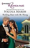 Wedding Date with Mr. Wrong by Nicola Marsh