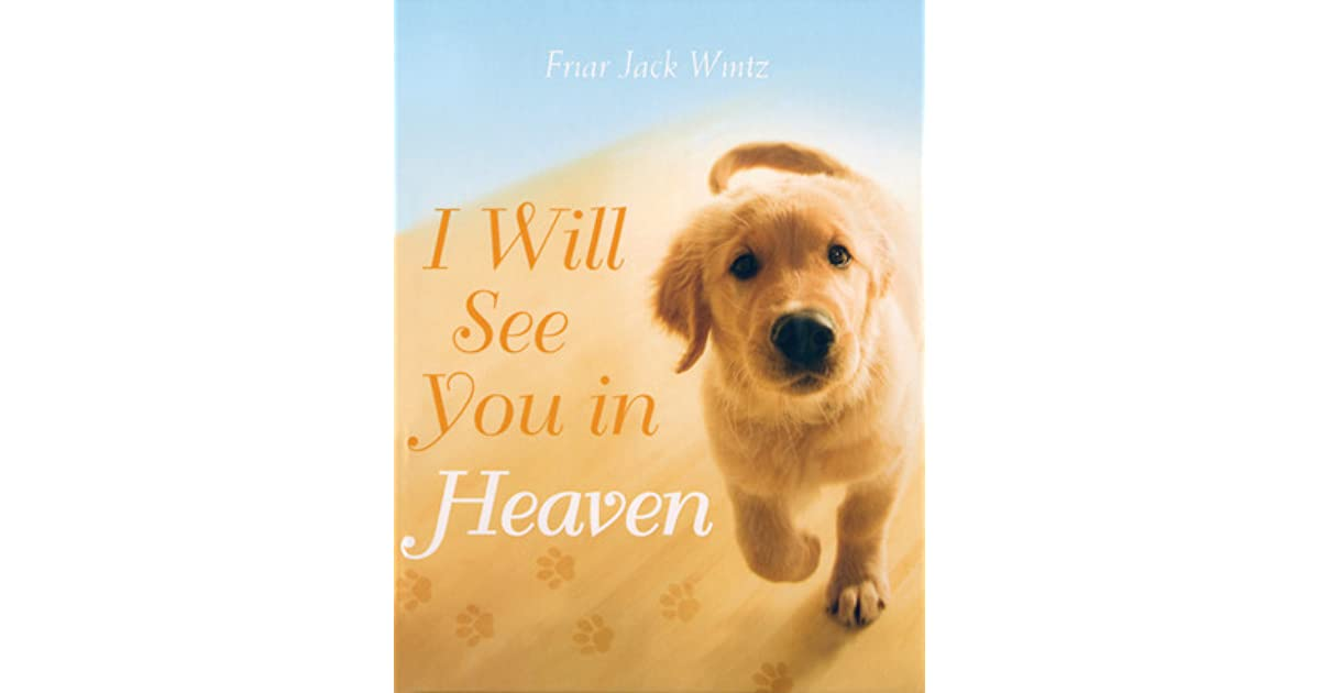 i will see you in heaven by jack wintz. Black Bedroom Furniture Sets. Home Design Ideas