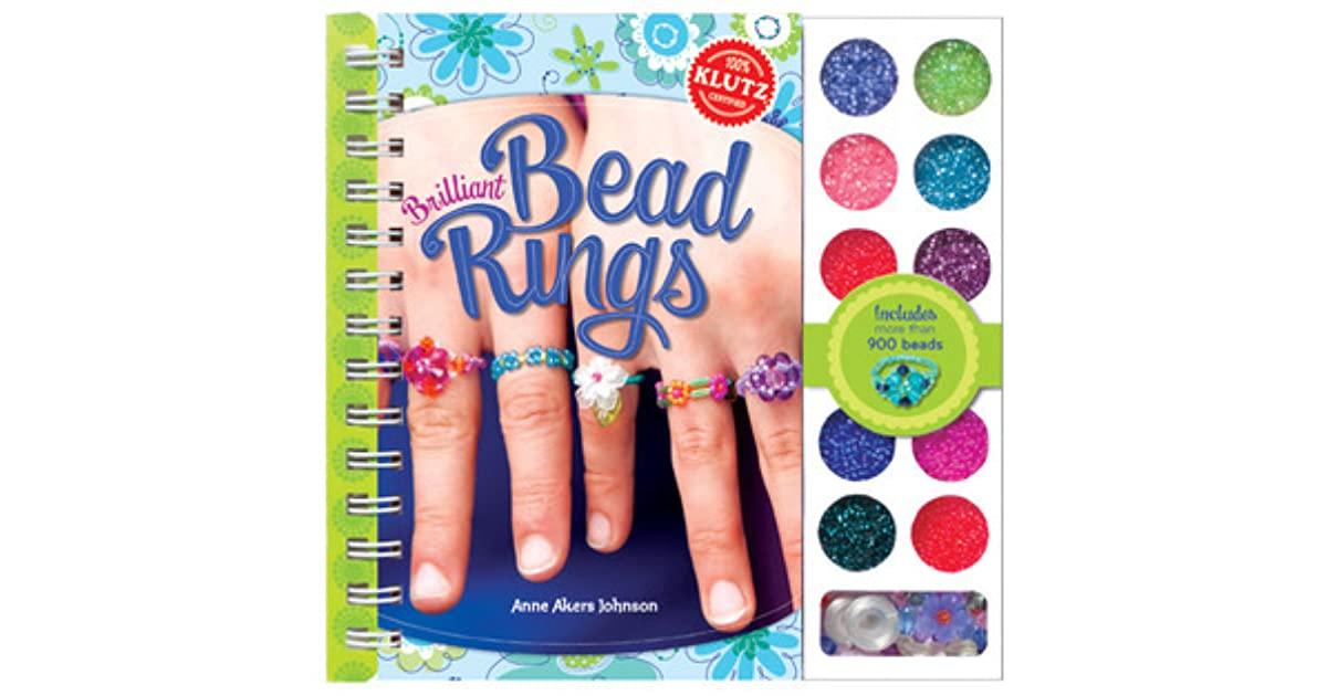 Klutz - Brilliant Bead Rings by Anne Akers Johnson