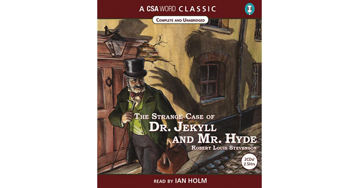 the theory of the psyche in the strange case of dr jekyll and mr hyde by robert louis stevenson Robert louis balfour stevenson (13 november 1850 - 3 december 1894) was a scottish novelist, poet, essayist, musician and travel writerhis most famous works are treasure island, kidnapped, strange case of dr jekyll and mr hyde, and a child's garden of verses.