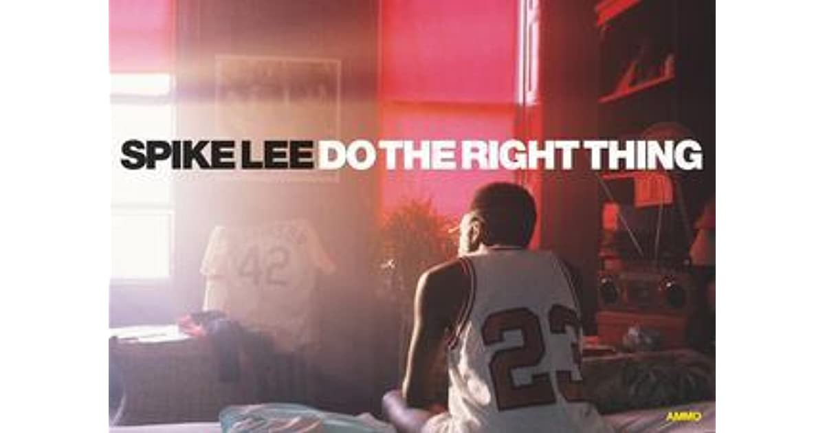 an analysis of do the right thing by spike lee In conversation 25 years after do the right thing, spike lee explains why racism still explodes in america.