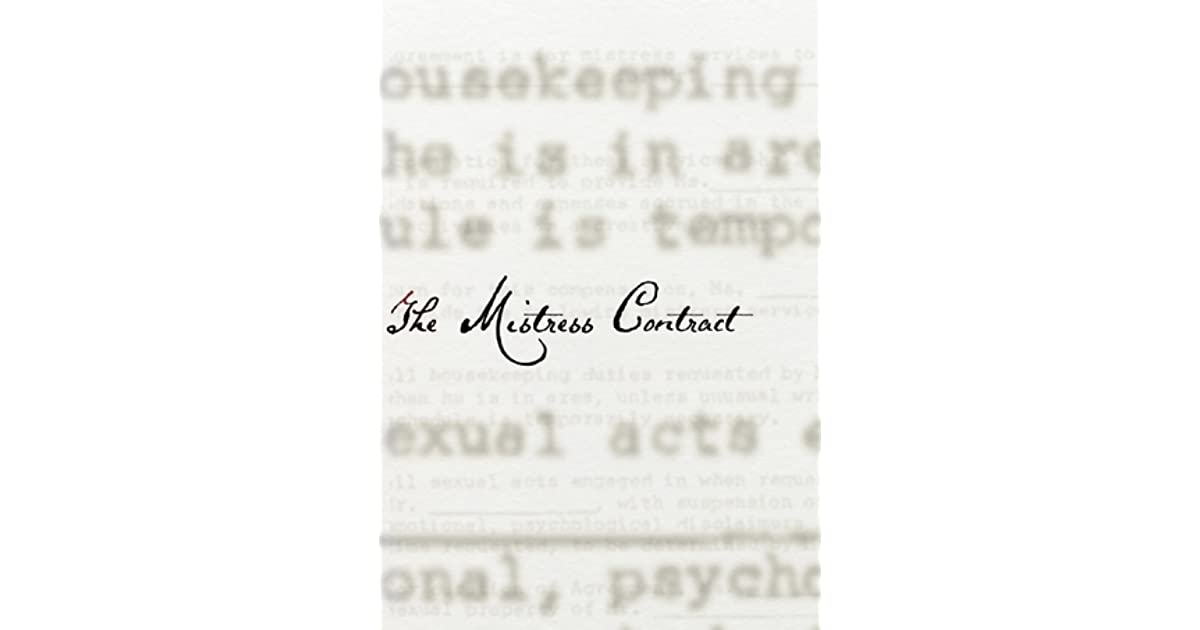 The Mistress Contract By She And He border=
