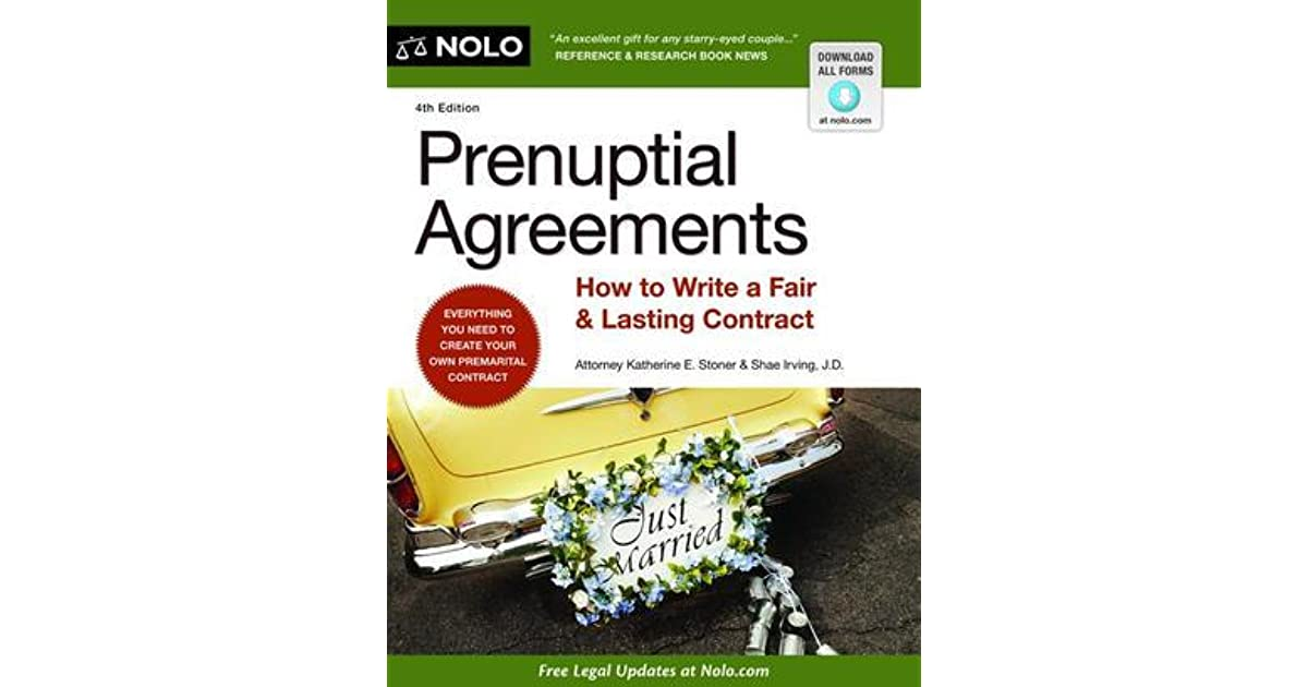 Prenuptial Agreements How To Write A Fair Lasting Contract By