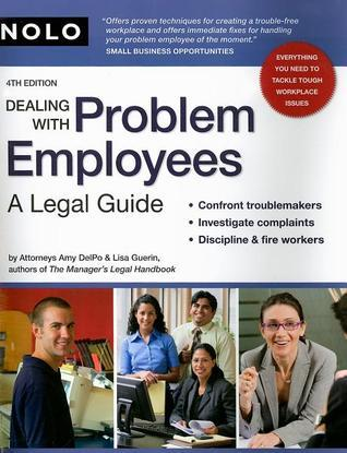 Dealing With Problem Employees-A Legal Guide (4th edition)