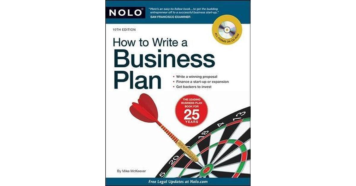 nolo business plan