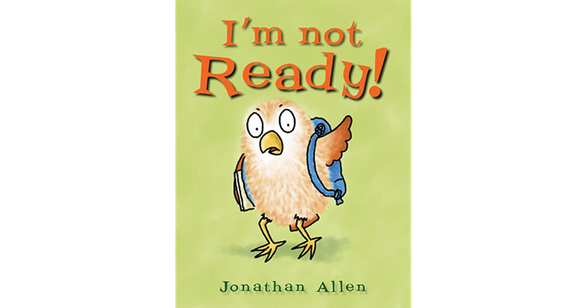 Image result for i'm not ready book