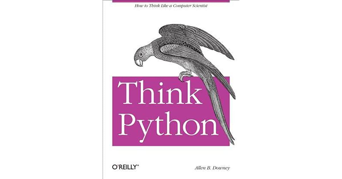 Think Python by Allen B  Downey