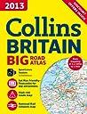 2013 Collins Big Road Atlas Britain