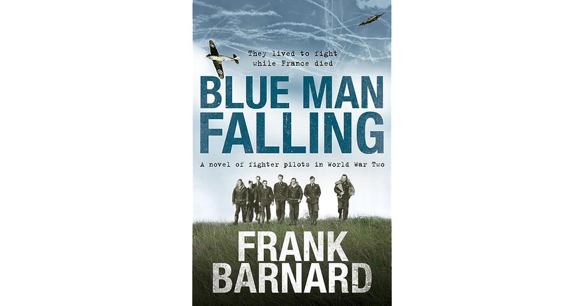Blue Man Falling