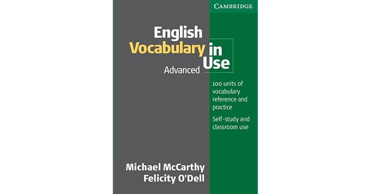 Advanced English Vocabulary Book