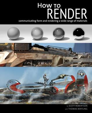 How to Render: communicating form and rendering a wide range of materials