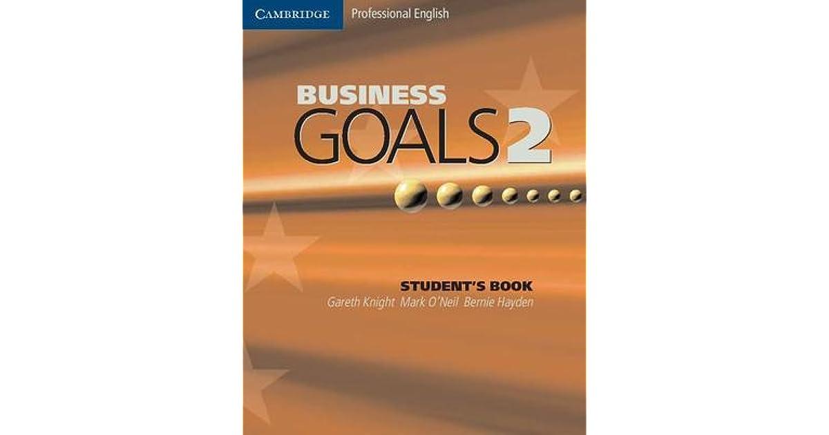 حل كتاب business goals 2