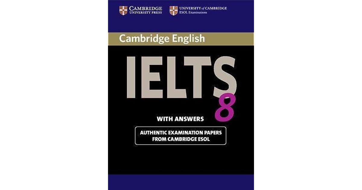 Cambridge IELTS 8 Academic by University of Cambridge
