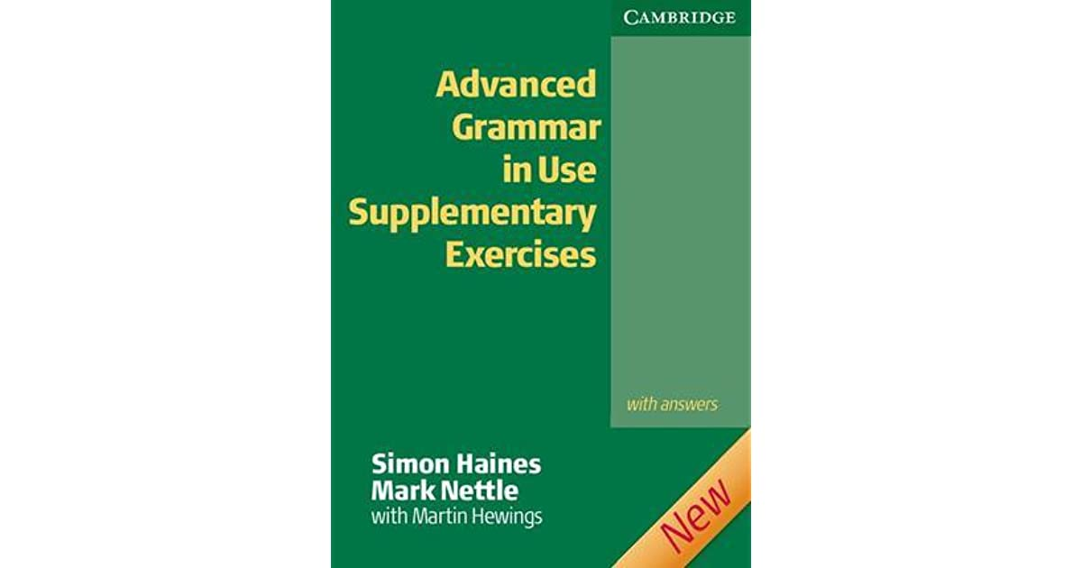 Advanced Grammar In Use Supplementary Exercises With Answers Pdf