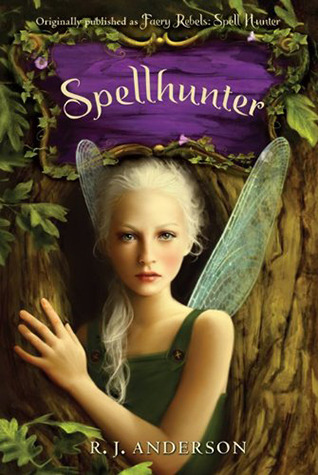 Jacket cover for Spellhunter by RJ Anderson