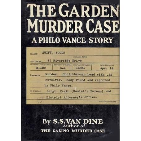 Case casino murder philo story vance station casino football contest