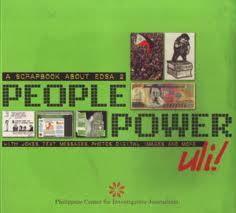A Scrapbook about EDSA 2 : people power uli.! : with jokes, text messages, photos, digital images and more