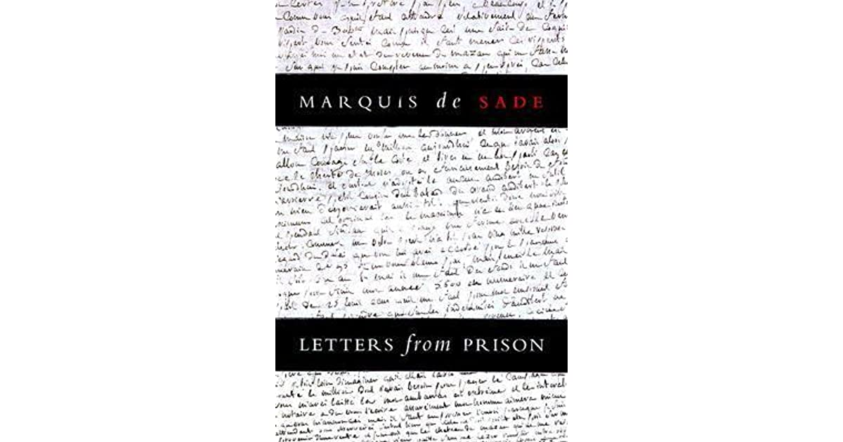 Letters from prison by marquis de sade fandeluxe Choice Image