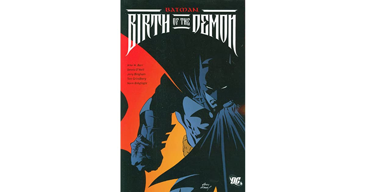 Batman birth of the demon by mike w barr fandeluxe Images