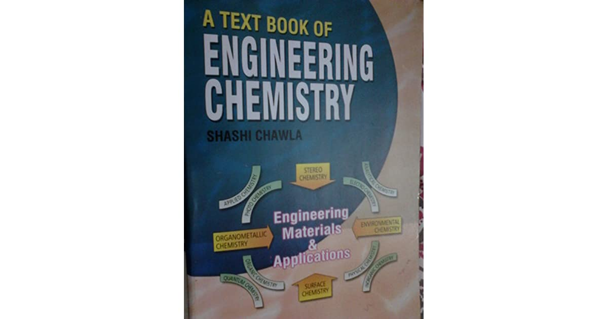 A text book of engineering chemistry by shashi chawla fandeluxe Images