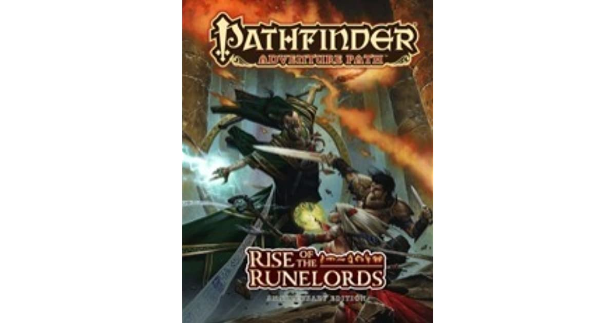 Pathfinder Adventure Path: Rise of the Runelords Anniversary
