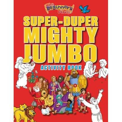 The Beginners Bible Super Duper Mighty Jumbo Activity Book By Kelly Pulley