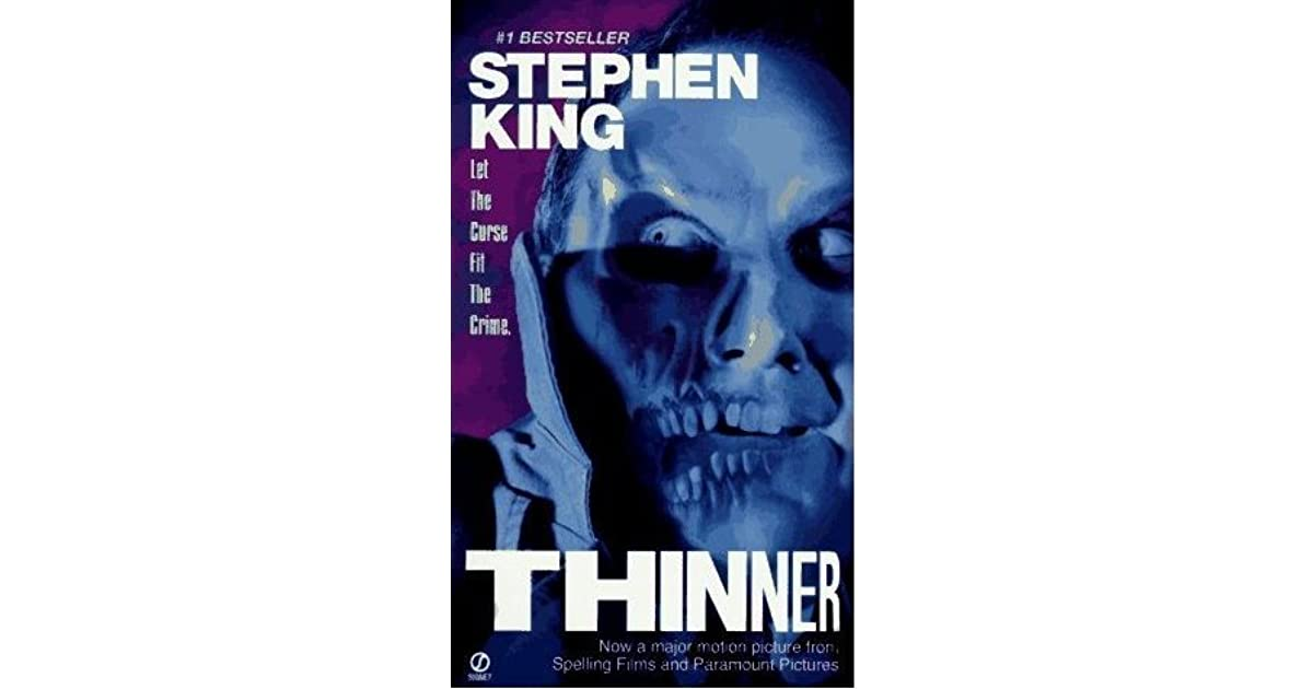 thinner stephen king book review