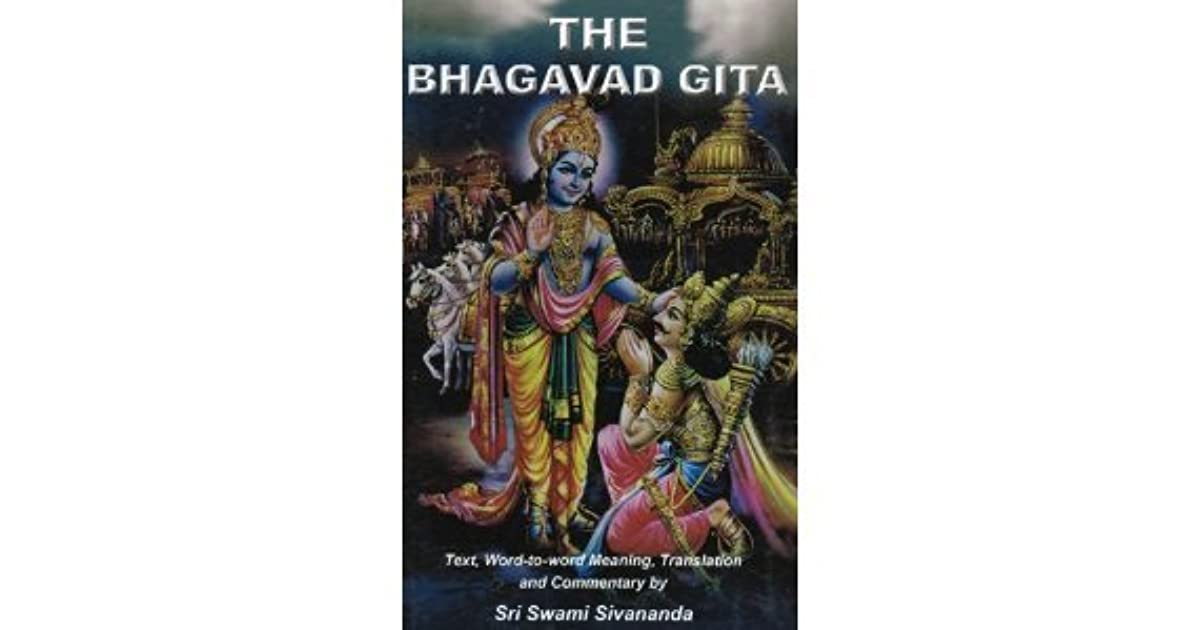 deontology and bhagavad gita The aim of this paper is to examine main concepts of bhagavad gita and either agree or the concept of karma is closed to the western notion of deontological.