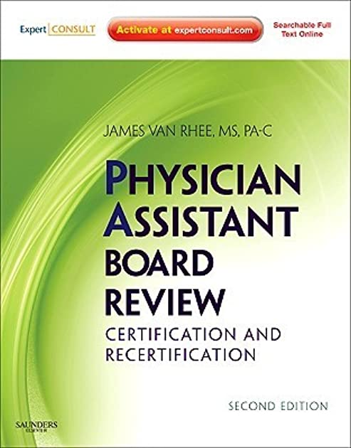 Saunders a and a review for physician assistants array physician assistant board review expert consult online and print by rh goodreads com fandeluxe Gallery