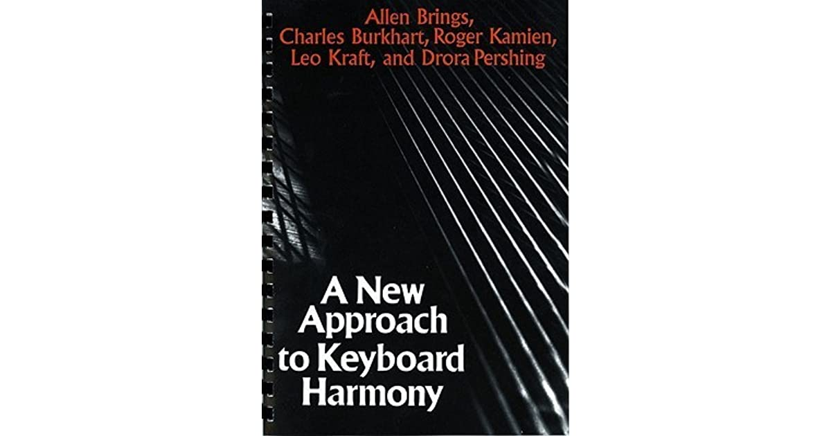 A new approach to keyboard harmony by allen brings fandeluxe Choice Image