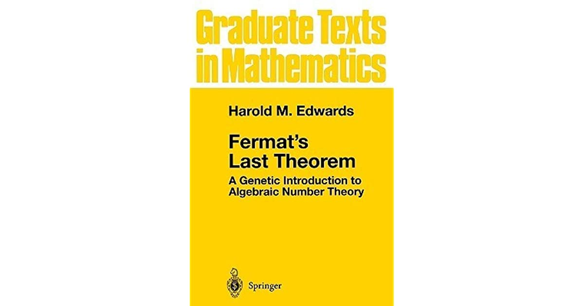 """the history of fermats last theorem essay Pierre de fermat essay which lead to the creation of the cartesian coordinates and his remarkable work also known as """"fermat's last theorem history essays."""