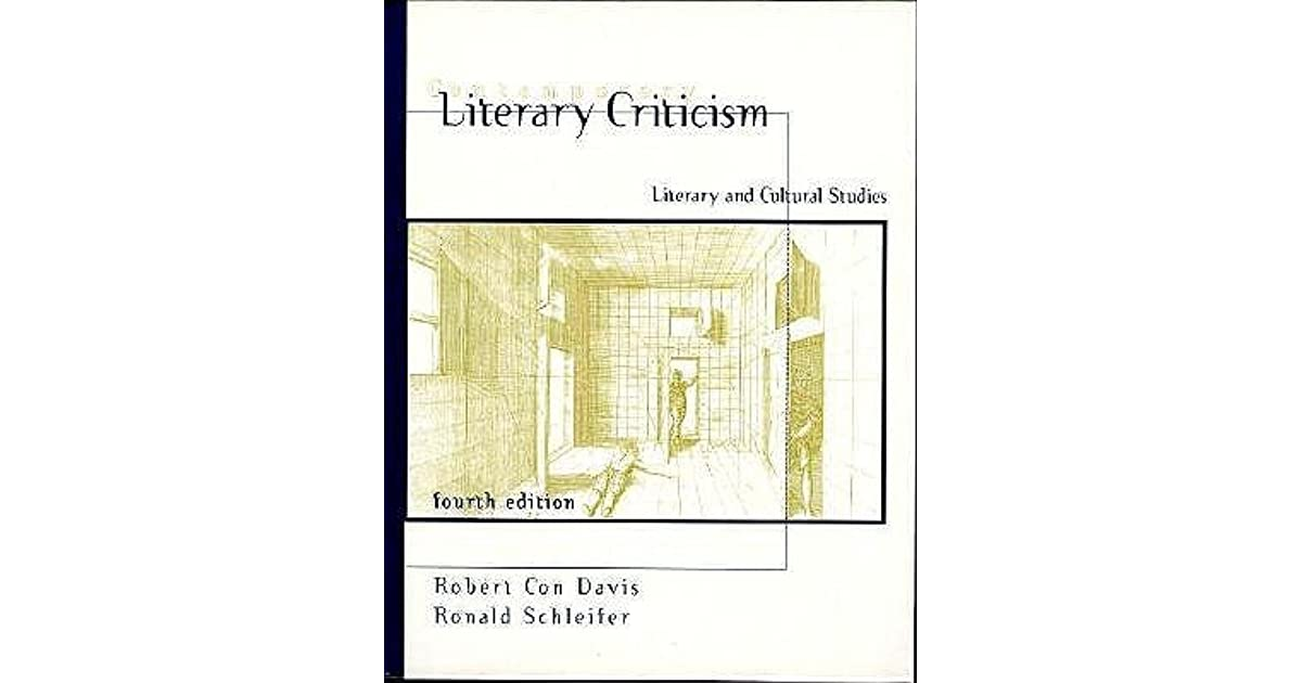 Contemporary Literary Criticism: Literary and Cultural Studies by ...