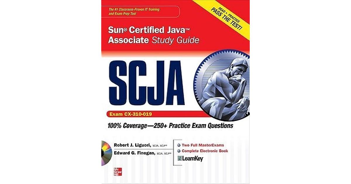 Scja sun certified java associate study guide