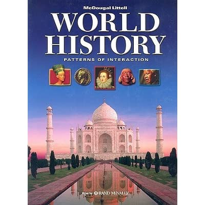 World History: Patterns of Interaction by Holt McDougal