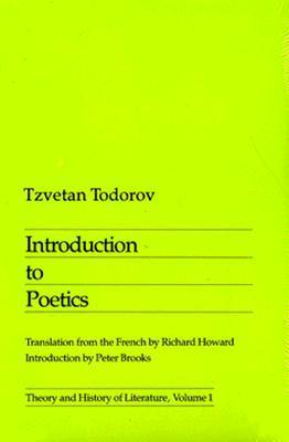 Introduction To Poetics