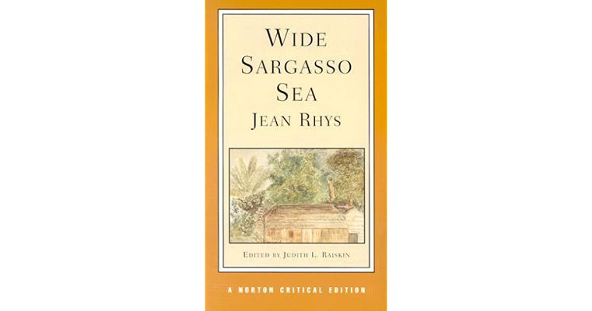 Jean rhys s wide sargasso sea the