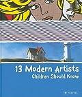 13 Modern Artists Children Should Know