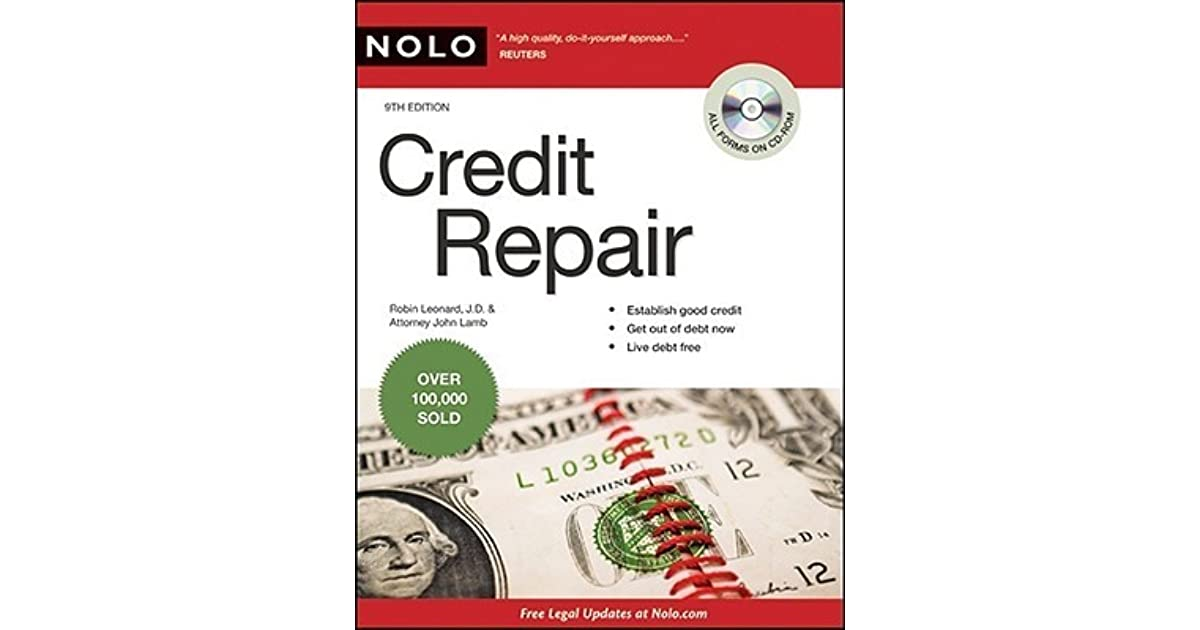 Credit Repair [With CDROM] by Robin Leonard