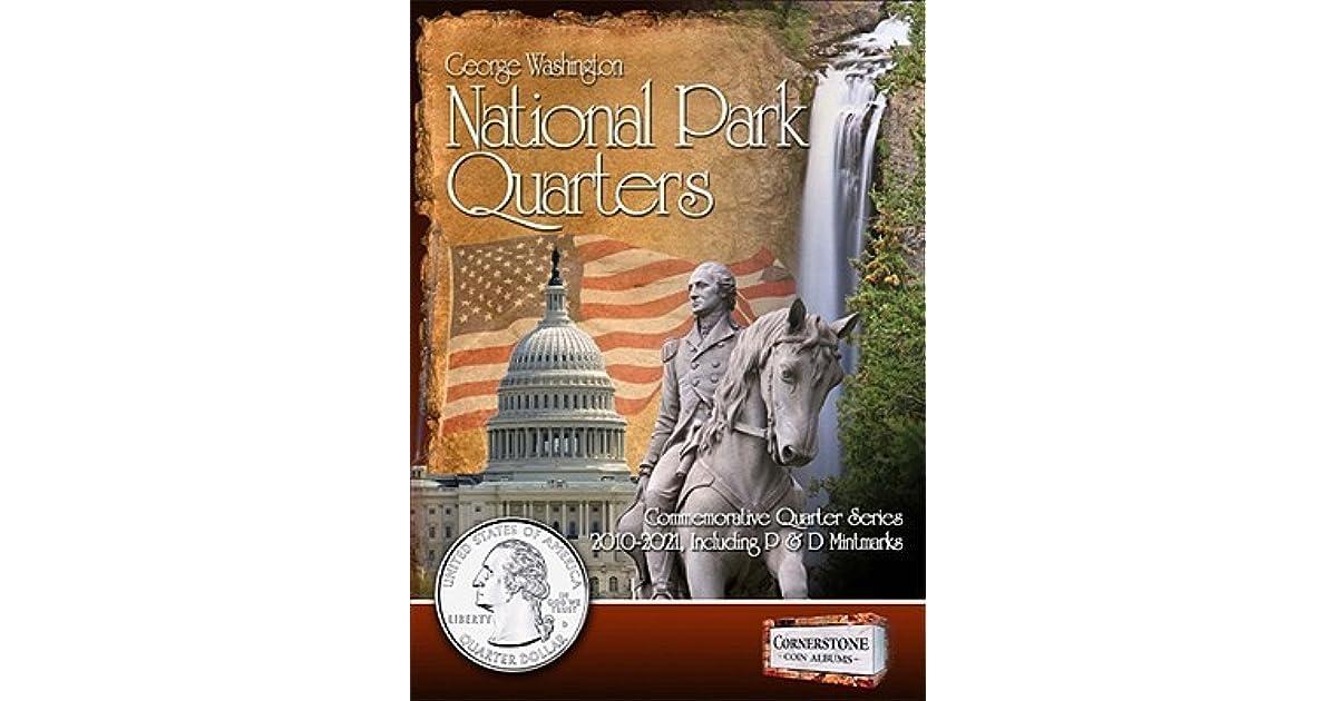 Cornerstone George Washington Statehood Quarter Album 1999-2009 P /& D