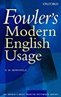 Fowlers modern english usage book depository australia
