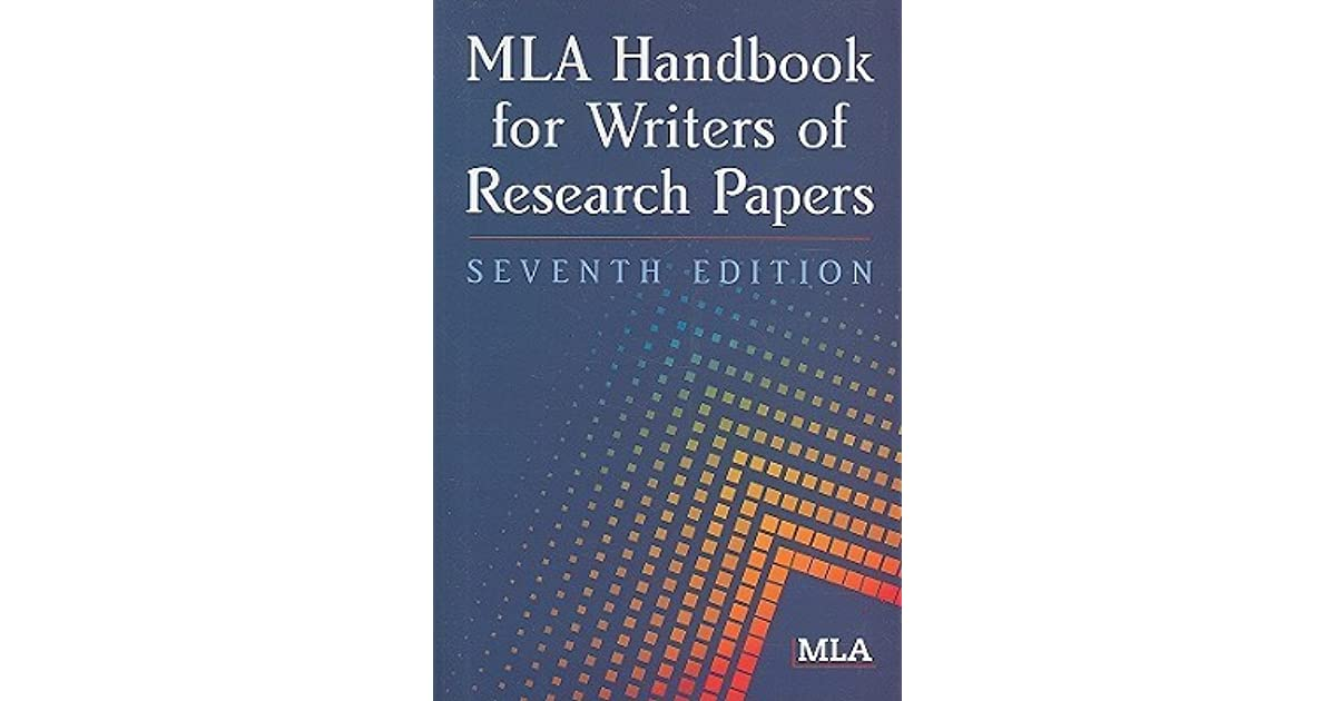 mla handbook for writers of research papers 8th edition Using the new mla 8th edition citation the seventh edition of the mla handbook for writers of research papers was published in 2009 and is meant especially for.