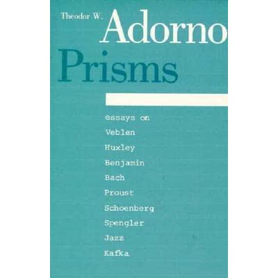 essay prism Prisms, essays in cultural criticism and society, is the work of a critic and scholar who has had a marked influence on contemporary american and german thought it displays the unusual combination of intellectual depth, scope, and philosophical rigor that adorno was able to bring to his subjects, whether he was writing about astrology columns.
