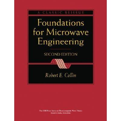 Collin Microwave Engineering Pdf