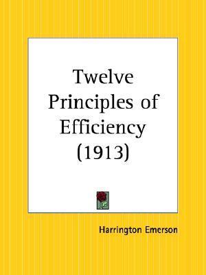 Twelve Principles of Efficiency