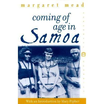 a comparison between the young adults in margaret meads coming of age in samoa and the russian youth Coming of age in the chocolate war and boy margaret mead's young adults in coming of age in samoa to russian youth it is evident where the differences.